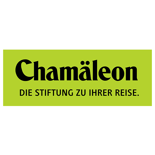 Many Thanks for sustainable tourisms and the hereby long-term support.|www.chamaeleon-stiftung.org