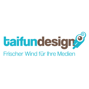 Many Thanks for the design of all our publications and our website. |www.taifun-design.com